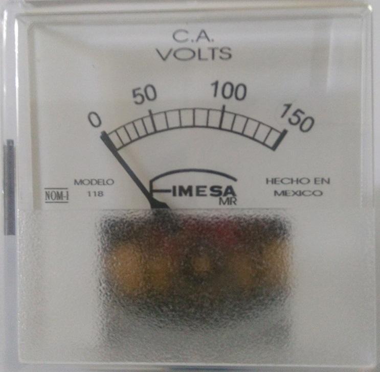 Voltímetros Analógicos CA