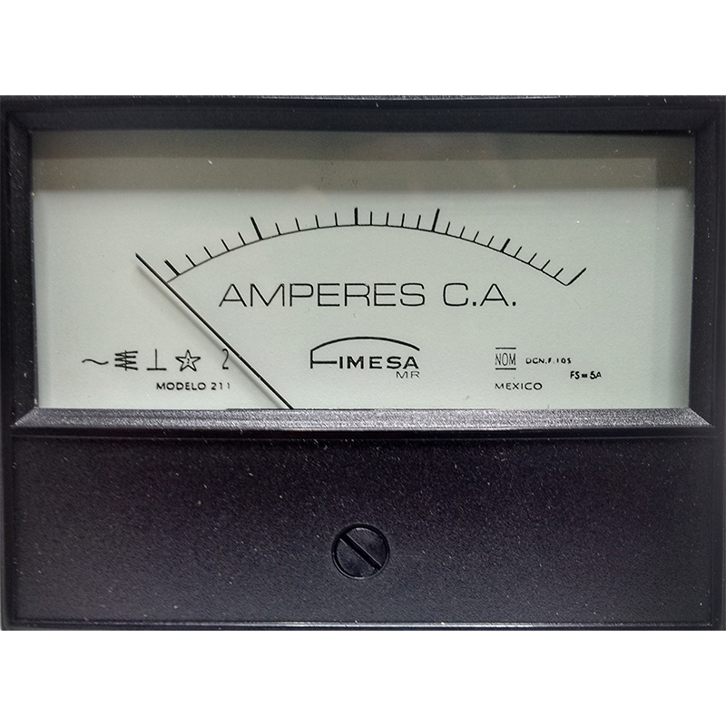 Amperímetros Analógicos CA